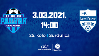 Đorđević pred utakmicu sa Novim Pazarom