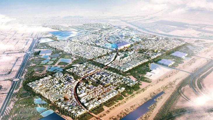 Масдар - город будущего план