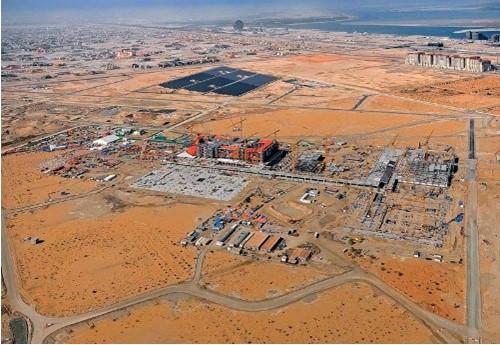 Масдар - строительство города