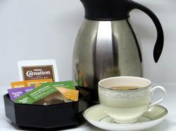Hot Water, Tea Selection & Hot Chocolate