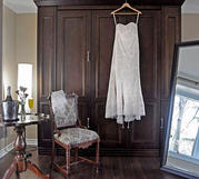 Bridal Dressing in the White Pine Room