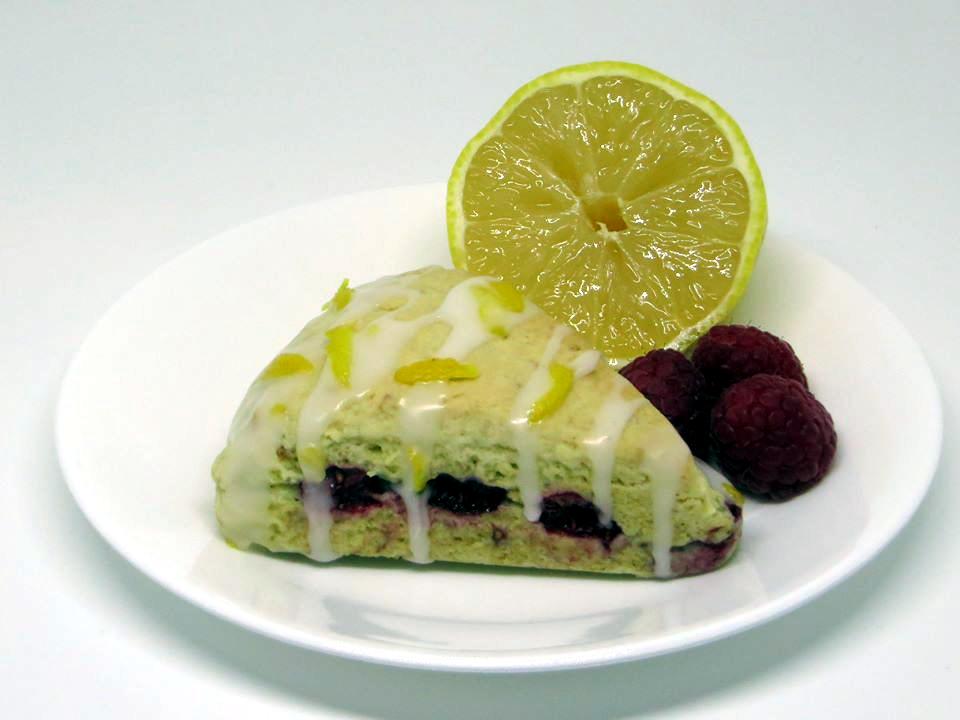 Raspberry-Lemon Scone