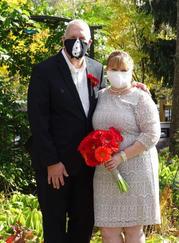 Wedding Day Covid Masks