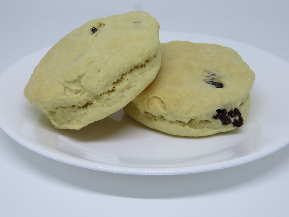 Raisin Tea Biscuit