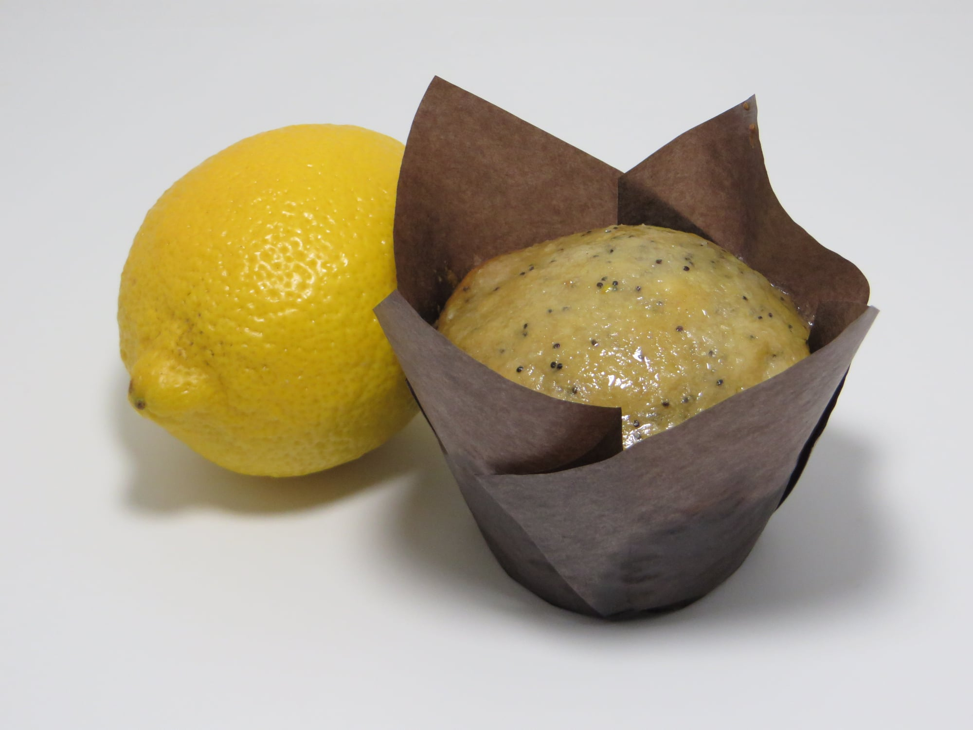 Lemon Glazed-Poppyseed Muffin