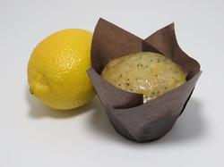 Lemon Glazed-Poppyseed Muffin