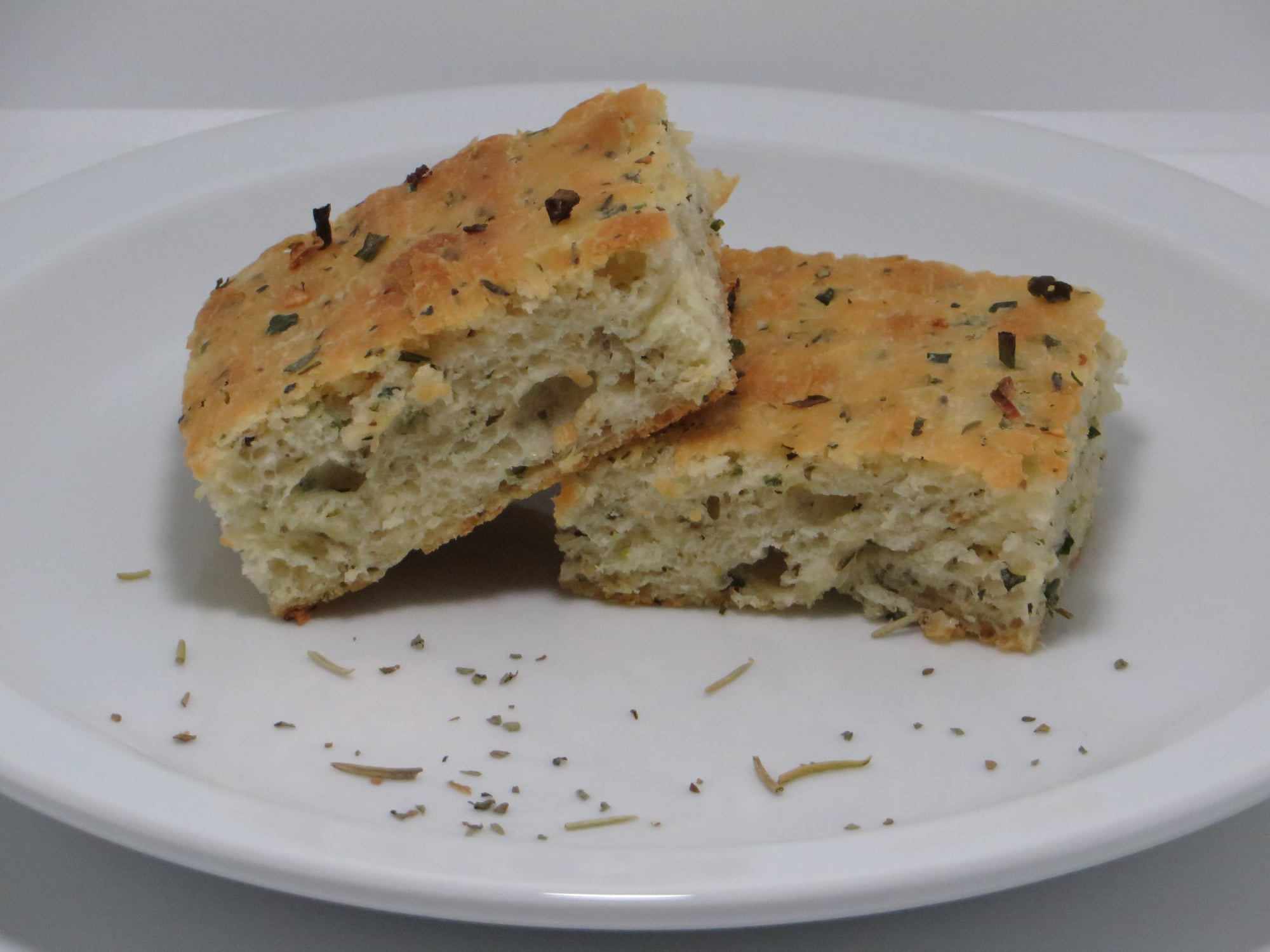 Herb-Garlic Focaccia Toast