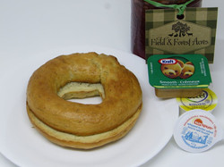 Toasted Plain Traditional Bagel
