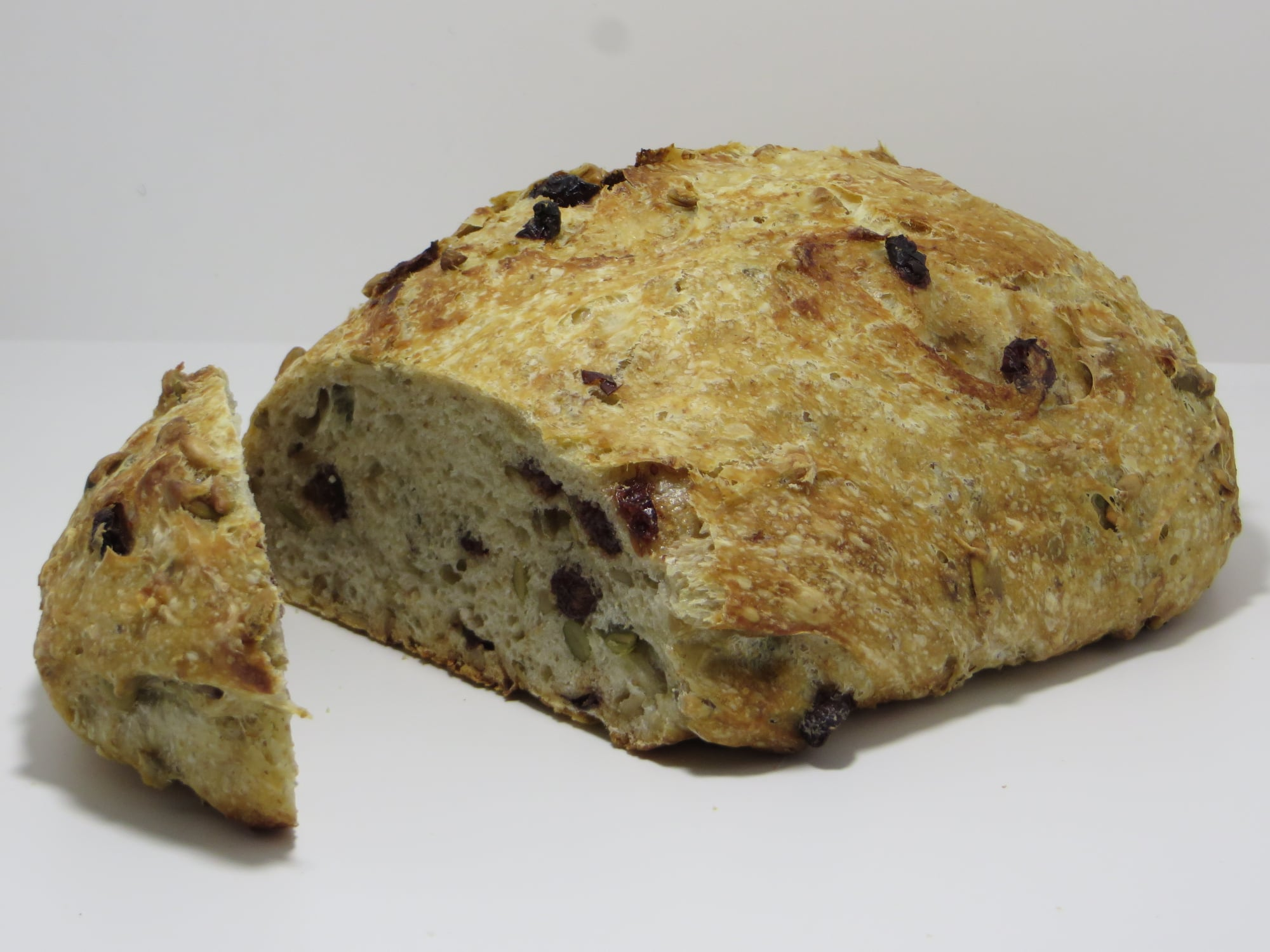 Cranberry-Pumpkin Seed Bread