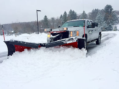 Snow Removal at Coupe's Cuts