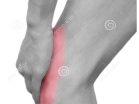 Pain in kneecap