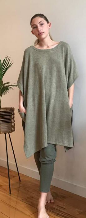 One Size Fits Most Top in Sage