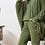 Thumbnail: High-waisted Pant - Green.