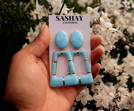 Baby Blue Earring