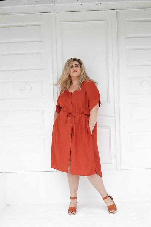 The Greta Shirt Dress