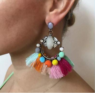 The Gypsy Rose Earring