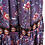 Thumbnail: The coveted Delilah Full Maxi Skirt in Lilac Multi print