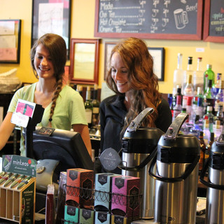 local coffee shop brighotn michigan two