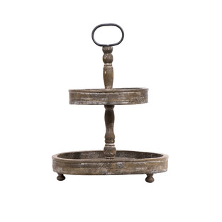 French Country Two Tier Tray
