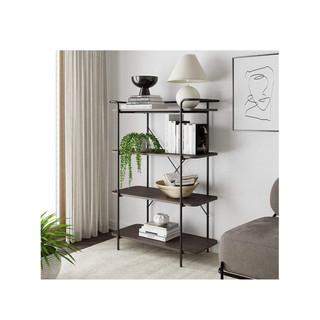 Modern Farmhouse Style Small 4 Tier Bookcase