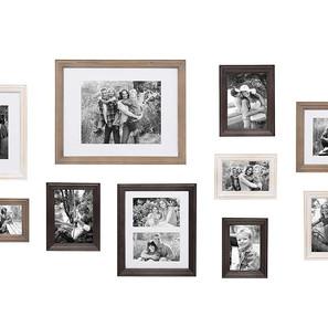 Transitional Style Photo Frame Set