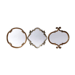 French Country Style Mirror Set of Three