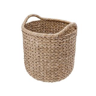 Modern Farmhouse Style Woven Storage Basket