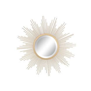 Bold Eclectic Style Sunburst Clock