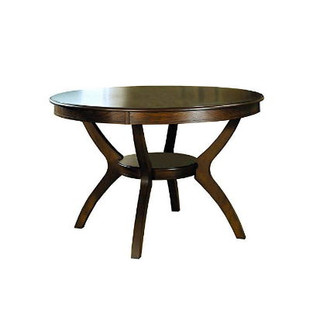 New Traditional Style Table with Shelf