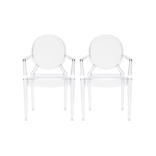 New Traditional Style Ghost Chairs
