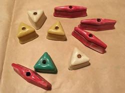 Gottlieb woodrail playfield plastics