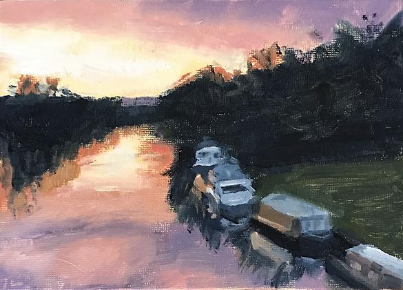 Thames at Dawn
