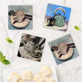TracyLesterArt coasters from Zazzle.com