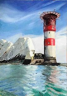 The Needles lighthouse