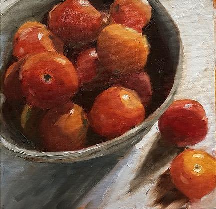 Succulent tomatoes