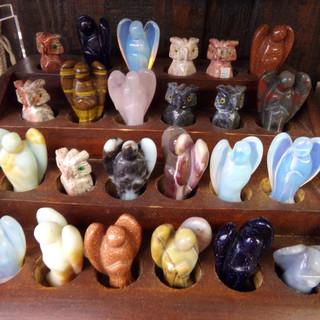Gemstone Figurines