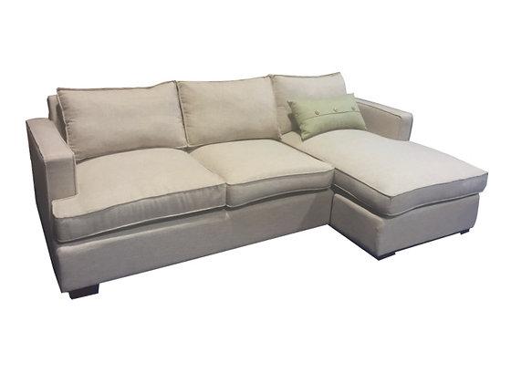 Harmony Chaise Sofa - Reversible