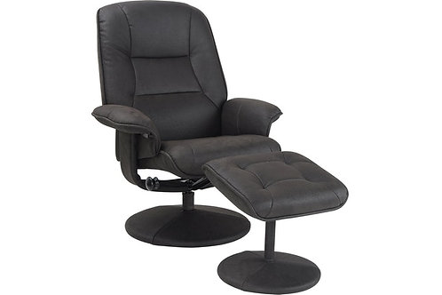 Webster Chair with Ottoman