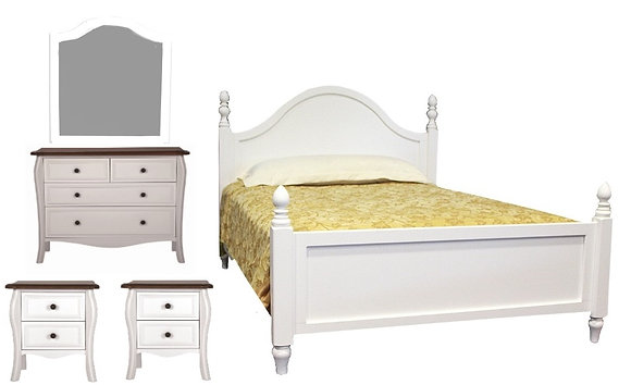 Provence 5 PC Bedroom Package
