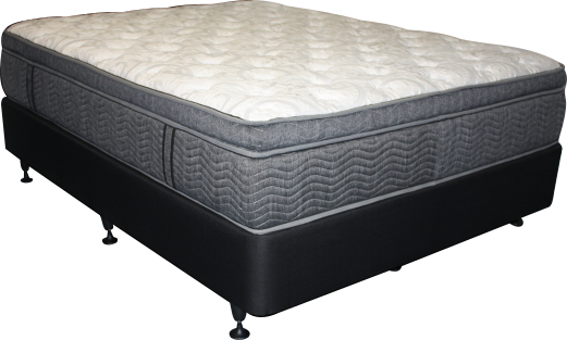 Lincoln Plush Queen Mattress + NZ Bed Base