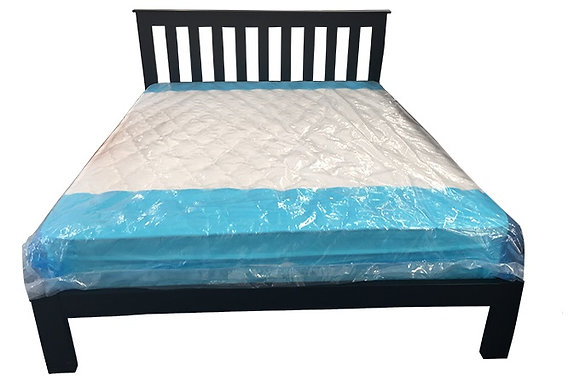 Tina Double Bed - Black