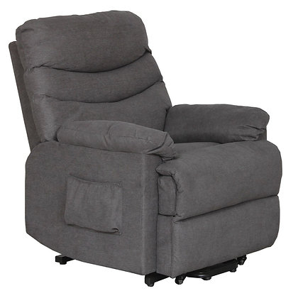 Milan Recliner-Lift Chair - Grey