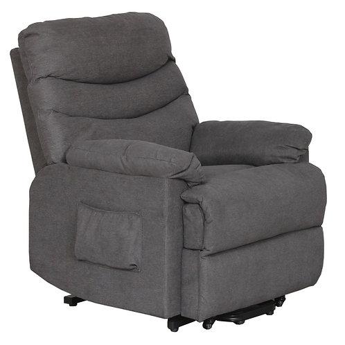 Milan Electric Recliner-Lift Chair - Grey