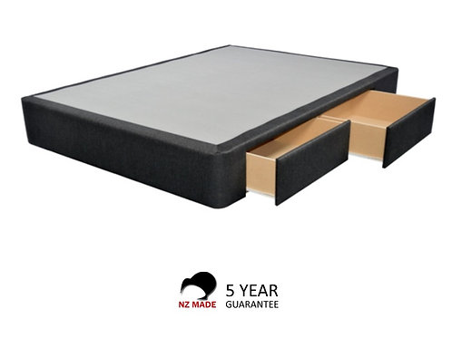 Chester Bed Base 4 Drawer - Double