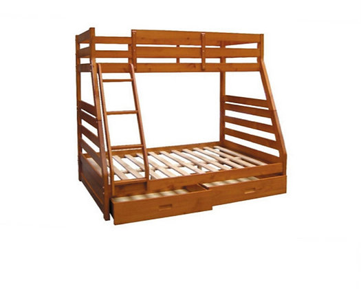 Oscar Duo Wooden Bunk