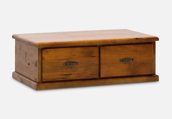 settler coffee table angle