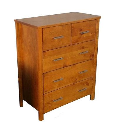 Pinehurst Tallboy 5 Drawer