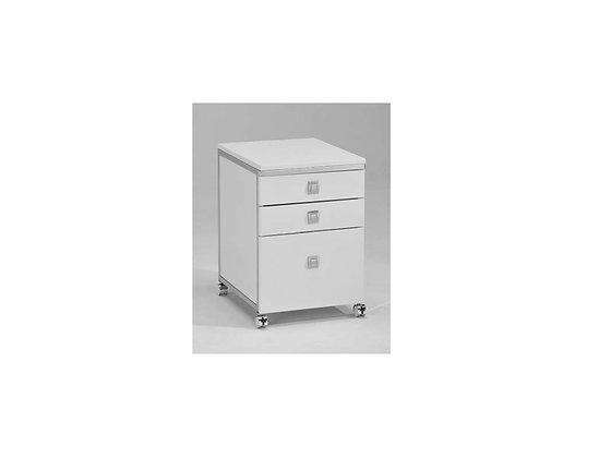 Nova Mobile Cabinet - White