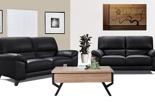 Hugo Sofa Set - Genuine Leather