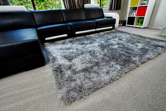 Storm Rug - Silver